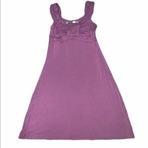 Athleta purple dress